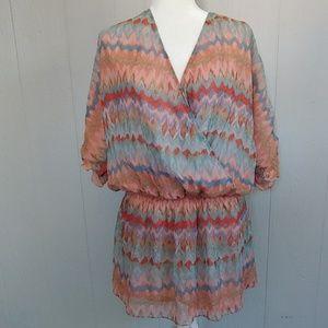 Haute Hippie Silk Boho Dress - Worn Once!